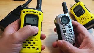 Alcsatorna beállítás Motorola walkie talkien: CTCSS és DCS zajzár bemutatása