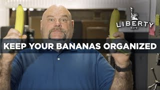 Safe Accessories: Keep Your Bananas Organized - Home Safe Organization