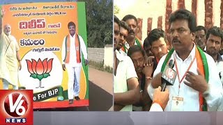 BJP MLA Candidate Dilip Chari Face To Face On Nagarkurnool Election Campaign