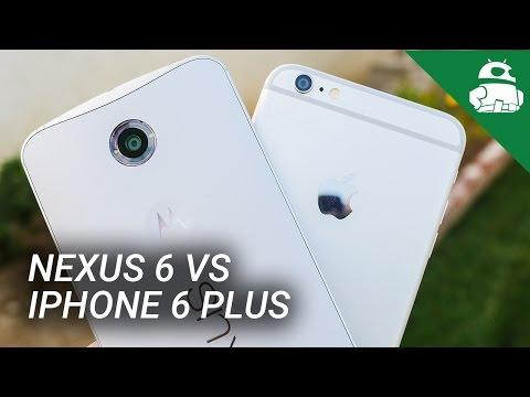Nexus 6 vs iPhone 6 Plus