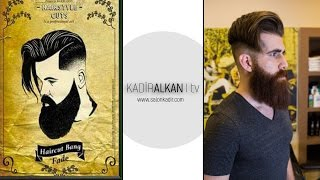 2017 En İyi Erkek Saç Sakal Modeli Bang Fade Hair Cut  Best Men