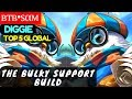 The Bulky Support Build [Top 5 Global Diggie]   втв•ѕαм Diggie Gameplay And Build #1 Mobile Legends