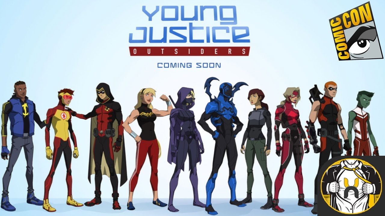 YOUNG JUSTICE 3 Creators Talk Spoiler New   YouTube