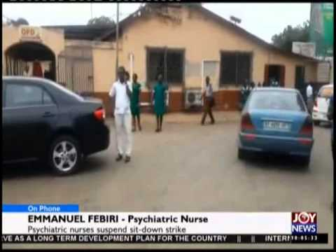 Accra Psychiatric Nurses - News Desk on Joy News (5-8-15)
