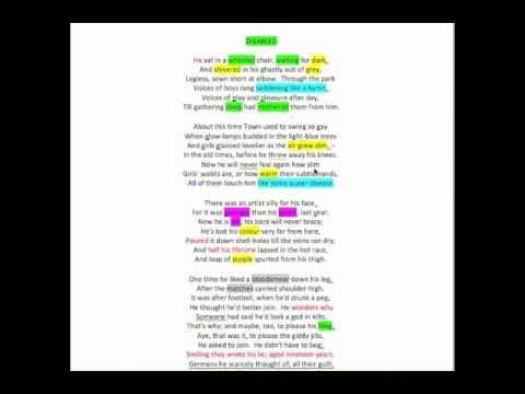 veronica poem analysis Veronica franco's poems consist of  franco's verve and eloquence in this poem and in capitolo 16 are most evident when she declares that she represents what.