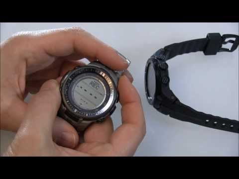 Casio Pro Trek PRW3000 Watch Review (Features. Comparisons. Multiple Versions)