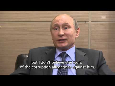 Putin says Blatter deserves Nobel Prize