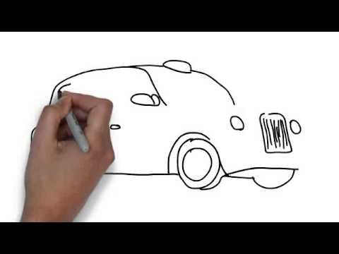 London Black Cab Drawing How to Draw Black Cab