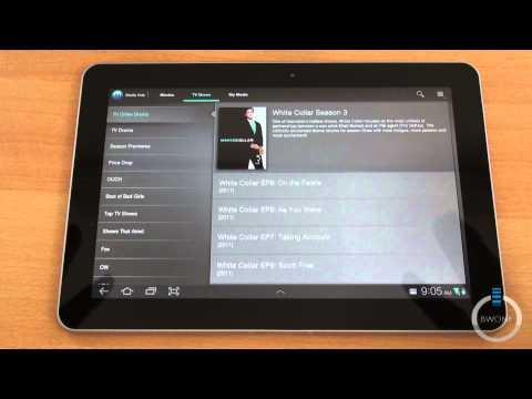 Touch Wiz On The Samsung Galaxy Tab 10.1 - BWOne.com