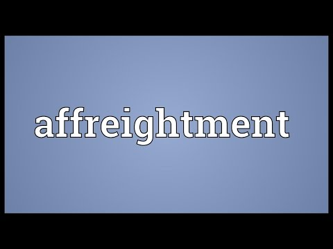 Header of Affreightment