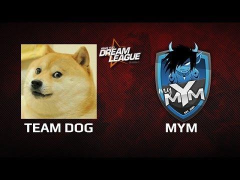 Team Dog -vs- MYM, DreamLeague Day 12, game 1
