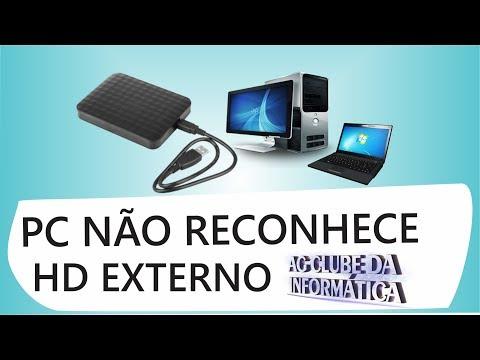 PC e Notebook não reconhece HD externo veja Solução