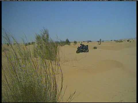 ADVrider.it Motorcycle Trip: Around the Sahara with a Honda CBR 900 RR and a DRZ 400 PART 2/3