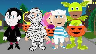 Halloween Songs Halloween Night - Halloween Songs - Kids Spooky Songs and Nursery R  #Halloween 114