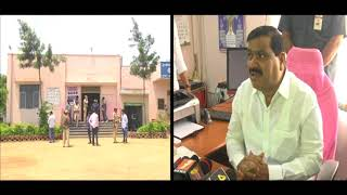 Minister Mahender reddy inspects space for Salar -E-Millat Test Driving Track |Bandlaguda