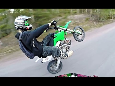 PitBike Adventures - Stomp KZR 140 & YCF 150