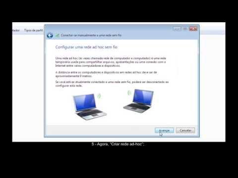 Criando rede wifi sem roteador wireless (Ad hoc).