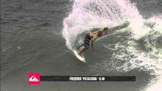 Fred Patacchia R1 H4 - Quiksilver Pro Gold Coast