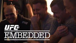 UFC 181 Embedded: Vlog Series - Episode 4