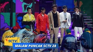 Cast Sinemart Baper Dengerin Lagu Afgan   Malam Puncak SCTV 28