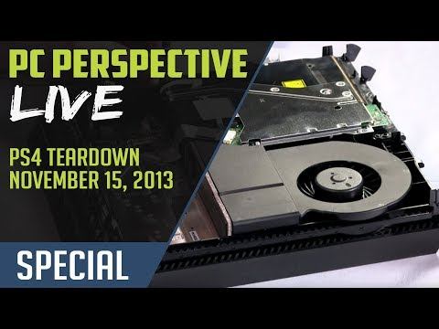 Playstation 4 (PS4) Teardown and Disassembly - PC Perspective