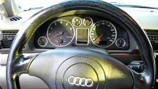 1998 Audi A4 1.8T Quattro Start up