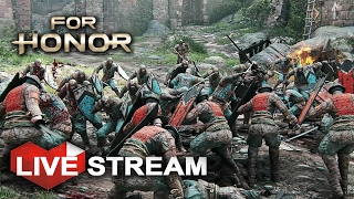 For Honor - ALL OUT WAR - Samurai VS Knights VS Vikings - Multiplayer Gameplay