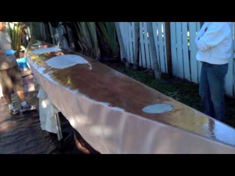 19' Sea Kayak build - Stitch and Glue - HD