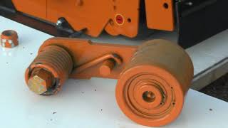 Flail Mower Automatic Belt Tensioner