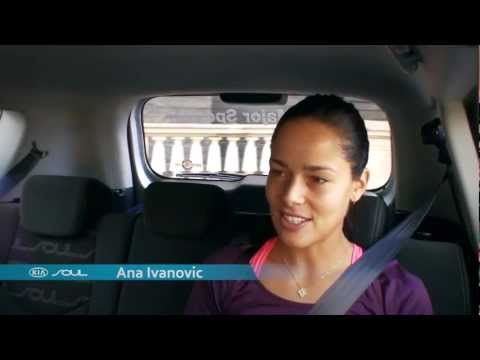Ana Ivanovic -- The Open Drive: Australian Open 2012 brought to you by Kia