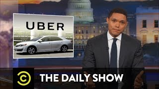 Another Uber Sexist Steps Down: The Daily Show