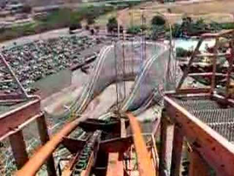 Goliath, Roller Coaster Six Flags Magic Mountain.