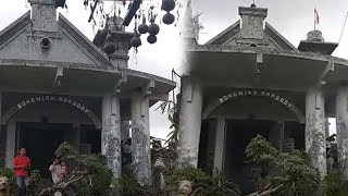 Video Viral Rumah Bergaya Eropa Bertuliskan Bohemian Rapsody di Blitar yang Dianggap Menyeramkan
