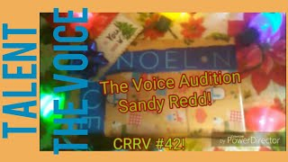 Blind reaction: Sandy Redd The Voice Audition!