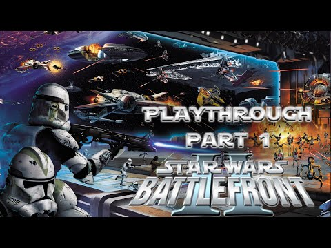 Star Wars Battlefront 2 Detonado / Playthrough Part 1 HD