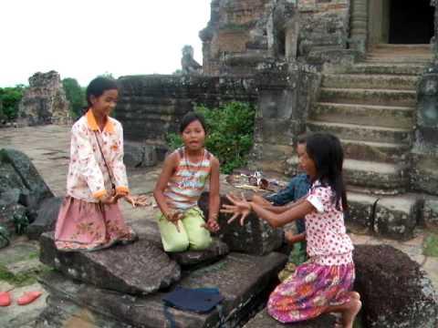 Cambodian Girls Dancing video