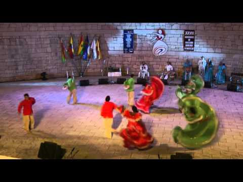 Colombian folk dance: Manteca de iguana - Agrupación Artística Danzar