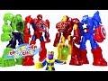 Đồ Chơi Siêu Nhân Người Nhện - Siêu Anh Hùng ROBOT Biến Hình - Cau Chuyen Do Choi thumbnail