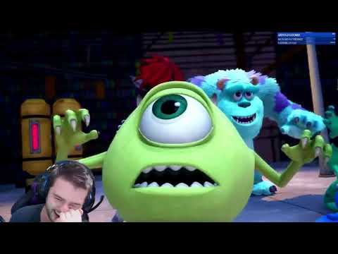 """Kingdom Hearts 3 D23 Expo 'Monsters Inc' & """"Don't Think Twice"""" Trailer reaction!"""