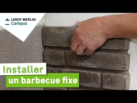comment installer un barbecue fixe leroy merlin youtube. Black Bedroom Furniture Sets. Home Design Ideas