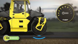 BOMAG ECONOMIZER: Intelligent Compaction for BOMAG asphalt roller
