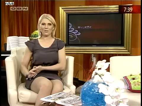 Marina Pelemis sexy legs