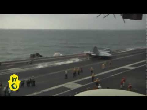 USS Abraham Lincoln in Strait of Hormuz: US Navy Aircraft Carrier enters Persian Gulf despite Iran