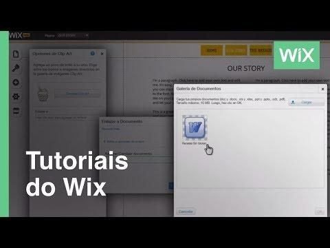 Cómo agregar documentos a tu sitio web | Wix.com