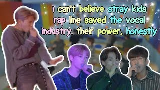 when stray kids rapline become singers