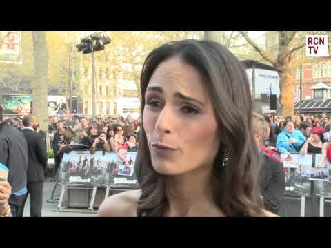 Jordana Brewster Interview Fast & Furious 6 World Premiere