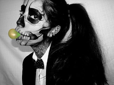 "$1 Lady Gaga ""Born This Way"" Music Video Skeleton Makeup"