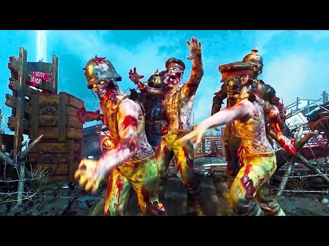 CALL OF DUTY Black Ops 3 Zombies Chronicles Gameplay