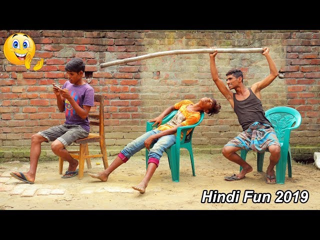 Indian New funny Video😄-😅Hindi Comedy Videos 2019-Episode-49--Indian Fun || ME Tv thumbnail