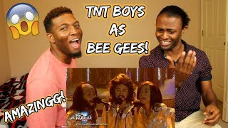 Download Lagu Your Face Sounds Familiar Kids 2018: TNT Boys as Bee Gees | Too Much Heaven (REACTION) Gratis STAFABAND